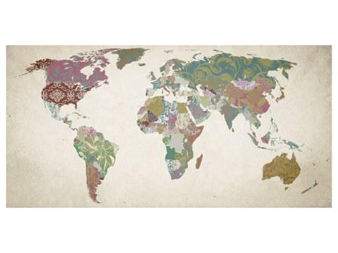 Photo de carte du monde