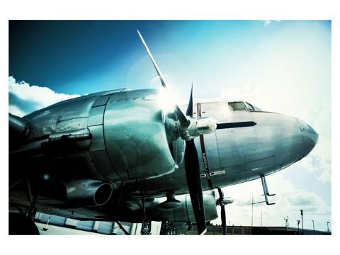 Oldtimer vliegtuig